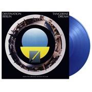 Tangerine Dream Destination Berlin - 180 Gram Transparent Blue UK vinyl LP