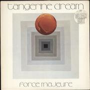 Click here for more info about 'Tangerine Dream - Force Majeure - Clear Vinyl + stickered p/s'