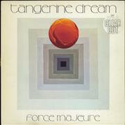 Click here for more info about 'Tangerine Dream - Force Majeure - Clear Vinyl - EX'