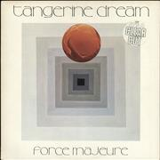Click here for more info about 'Tangerine Dream - Force Majeure - Clear Vinyl - Stickered'