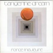 Tangerine Dream Force Majeure UK vinyl LP