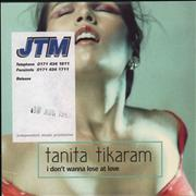 Click here for more info about 'Tanita Tikaram - I Don't Wanna Lose'