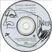 Tanita Tikaram Twist In My Sobreity USA CD single Promo