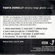 Click here for more info about 'Tanya Donelly - Whiskey Tango Ghosts'