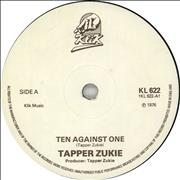 Click here for more info about 'Tapper Zukie - Ten Against One'
