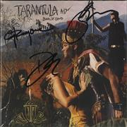 Click here for more info about 'Tarantula AD - Book Of Sand - Fully Autographed'