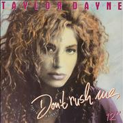 Click here for more info about 'Taylor Dayne - Don't Rush Me'