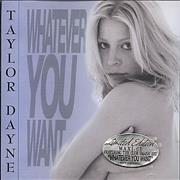 Click here for more info about 'Taylor Dayne - Whatever You Want'