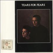 Click here for more info about 'Tears For Fears - '85 Tour + merchandise insert + Ticket'