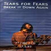 Click here for more info about 'Tears For Fears - Break It Down Again'