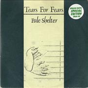 Click here for more info about 'Tears For Fears - Pale Shelter - Green Vinyl'