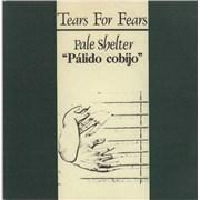 """Tears For Fears Pálido Cobijo Spain 7"""" vinyl"""