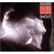 """Tears For Fears Shout UK 7"""" vinyl"""