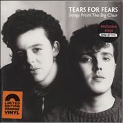Tears For Fears Songs From The Big Chair - Orange Vinyl - Sealed UK vinyl LP