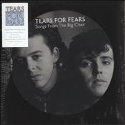 Tears For Fears Songs From The Big Chair - Sealed UK picture disc LP