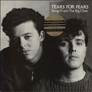 Click here for more info about 'Tears For Fears - Songs From The Big Chair - Stickered Sleeve'