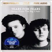 Tears For Fears Songs From The Big Chair UK Blu Ray Audio