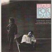 """Tears For Fears Todos Quieren Gobernar El Mundo Spain 7"""" vinyl"""