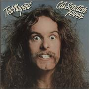 Click here for more info about 'Ted Nugent - Cat Scratch Fever - White Label'