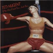 Click here for more info about 'Ted Nugent - If You Can't Lick 'Em... Lick 'Em - Promo Stickered'