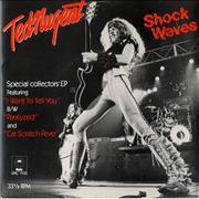 Click here for more info about 'Ted Nugent - Shockwaves'