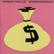 Click here for more info about 'Teenage Fanclub - Bandwagonesque + Poster - EX'