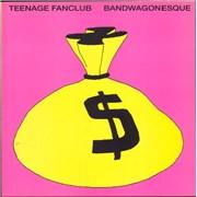 Teenage Fanclub Bandwagonesque - EX UK vinyl LP