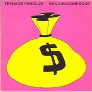 Teenage Fanclub Bandwagonesque UK vinyl LP