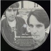 """Teenage Fanclub Mine Exclusively UK 7"""" vinyl Promo"""