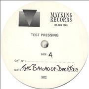 Click here for more info about 'Teenage Fanclub - The Ballad of John & Yoko - Test Pressing'