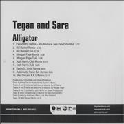 Click here for more info about 'Tegan & Sara - Alligator'
