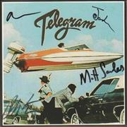 Click here for more info about 'Telegram - Taffy Come Home - Autographed'
