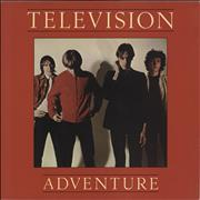 Click here for more info about 'Television - Adventure - Red Vinyl - EX'