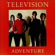 Click here for more info about 'Television - Adventure - Red Vinyl'