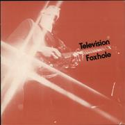 Click here for more info about 'Television - Foxhole - Red Sleeve'