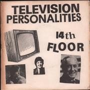 Click here for more info about 'Television Personalities - 14th Floor - Hughie Green p/s'
