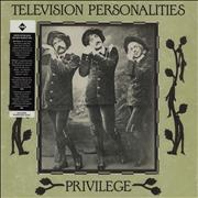 Click here for more info about 'Television Personalities - Privilege - Black & White Marble Vinyl'