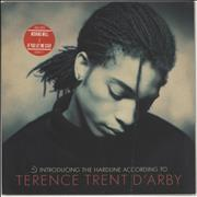 Click here for more info about 'Terence Trent D'Arby - Introducing The Hardline According To - stickered sleeve'