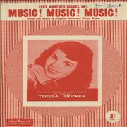 Click here for more info about 'Teresa Brewer - Music! Music! Music!'