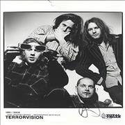 Click here for more info about 'Terrorvision - Autographed Publicity Photograph'