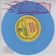 Click here for more info about 'Terrorvision - Fists Of Fury - Blue Vinyl'