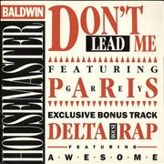 Click here for more info about 'Terry Baldwin - Don't Lead Me'