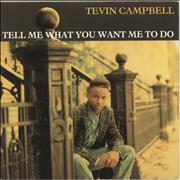 Click here for more info about 'Tevin Campbell - Tell Me What You Want Me To Do'