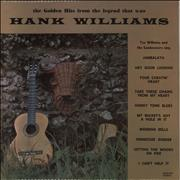 Click here for more info about 'Tex Williams And The Sundowners - The Golden Hits From The Legend That Was Hank Williams'
