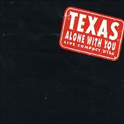 Texas Alone With You - Live UK CD single