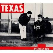 Texas Everyday UK CD single