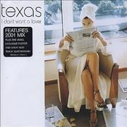 Click here for more info about 'Texas - I Don't Want A Lover'