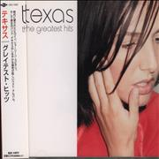 Texas The Greatest Hits Japan CD album Promo