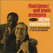 Click here for more info about 'Thad Jones - All My Yesterdays'