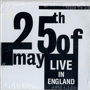 Click here for more info about 'The 25th Of May - Live In England - Sealed'